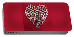Heart Pop Portable Battery Charger