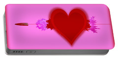 Heart Series Love Speeding Bullets 2 Portable Battery Charger