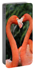 Heart To Heart Flamingo's Portable Battery Charger
