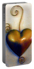 Heartswirls Portable Battery Charger by RC deWinter