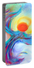 Heaven Sent Digital Art Painting Portable Battery Charger