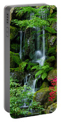 Heavenly Falls Serenity Portable Battery Charger by Don Schwartz