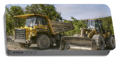 Heavy Equipment - Komatsu - Cat Portable Battery Charger by Jason Politte