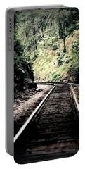 Hegia Burrow Railroad Tracks  Portable Battery Charger