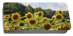 Helianthus Patch 4 Portable Battery Charger