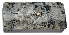 Big Horn Sheep Coming Down The Mountain  Portable Battery Charger