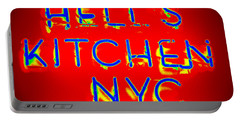 Hell's Kitchen Nyc Portable Battery Charger by Ed Weidman