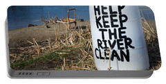 Help Keep The River Clean Portable Battery Charger