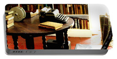 Hemingway's Studio Ernest Hemingway Key West Portable Battery Charger