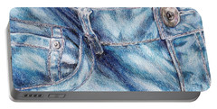 Her Favorite Pair Of Jeans Portable Battery Charger