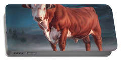 Hereford Bull Portable Battery Charger