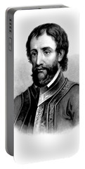 Hernando De Soto, Spanish Conquistador Portable Battery Charger