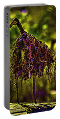 Portable Battery Charger featuring the photograph Heron Totem by Gary Holmes