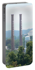 Hershey Smoke Stacks Portable Battery Charger by Michael Porchik