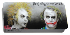Hey, Why So Serious? Portable Battery Charger