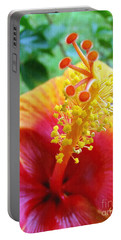 Hibiscus Antennae Portable Battery Charger