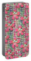 Hibiscus Pink Water Portable Battery Charger