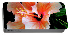 Hibiscus Spectacular Portable Battery Charger