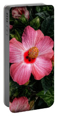 Hibiscus Sunset Portable Battery Charger