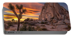 Hidden Valley Rock - Joshua Tree Portable Battery Charger