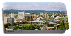 High Angle View Of A City, Spokane Portable Battery Charger