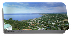 High Angle View Of A Town, La Jolla Portable Battery Charger