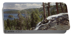 High Angle View Of The Eagle Falls Portable Battery Charger