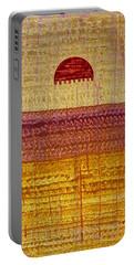 High Desert Horizon Original Painting Portable Battery Charger