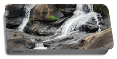 Portable Battery Charger featuring the photograph High Falls by Aaron Martens