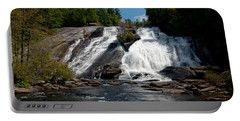 High Falls North Carolina Portable Battery Charger by Charles Beeler
