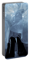 High Heels And Petticoats Portable Battery Charger