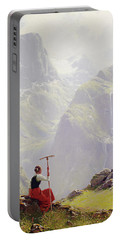 High In The Mountains Portable Battery Charger