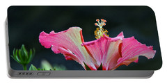 High Speed Hibiscus Flower Portable Battery Charger