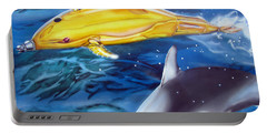 High Tech Dolphins Portable Battery Charger