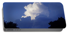 High Towering Clouds Portable Battery Charger by Verana Stark
