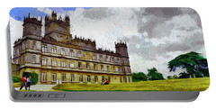 Highclere Castle Portable Battery Charger by Georgi Dimitrov