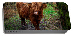 Highland Beast  Portable Battery Charger by Adrian Evans