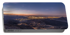 Highway 74 Vista Point Palm Desert Light Painting Portable Battery Charger
