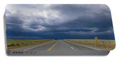 Highway Near Blanding, Utah, Usa Portable Battery Charger