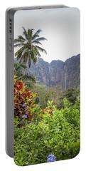 Hiilawe And Hakalaoa Falls Portable Battery Charger