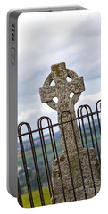 Hill Of Tara Celtic Cross Portable Battery Charger