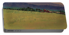 Hilltop Farm Portable Battery Charger by Gail Kent