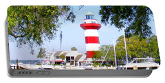 Hilton Head Lighthouse And Marina Portable Battery Charger