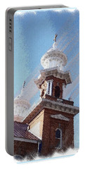 Historic Church Steeples Portable Battery Charger