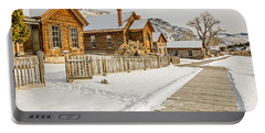 Historic Ghost Town Portable Battery Charger