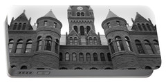 Portable Battery Charger featuring the photograph Historic Old Red Courthouse Dallas #2 by Robert ONeil