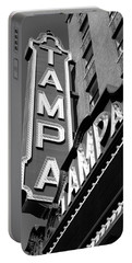 Historic Tampa Portable Battery Charger by David Lee Thompson