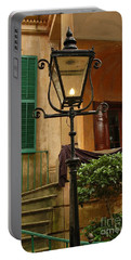 Portable Battery Charger featuring the photograph Historical Gas Light by Patrick Shupert
