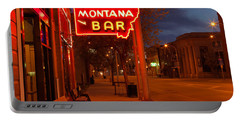 Historical Montana Bar Portable Battery Charger