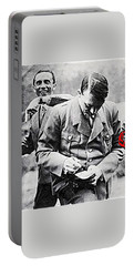 Hitler And Goebbels  As The German Chancellor Signs An Autograph  Portable Battery Charger